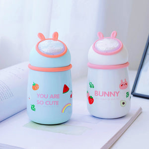 Cute Rabbit Stainless Steel Vacuum Water Bottle JK2347