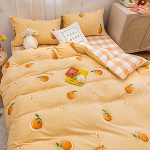 Sweet Orange Bedding Set JK2376