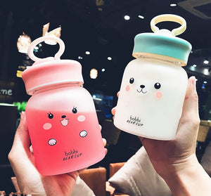Kawaii Bobbi Bear Drinking Bottle JK1082