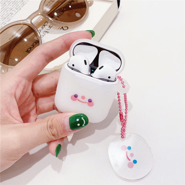 Smile Face Airpods Protector  JK1508