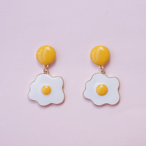 Fashion Eggs Earrings/Clips JK1985