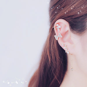 Girl Heart Sweet Pearl Clips Set JK1365