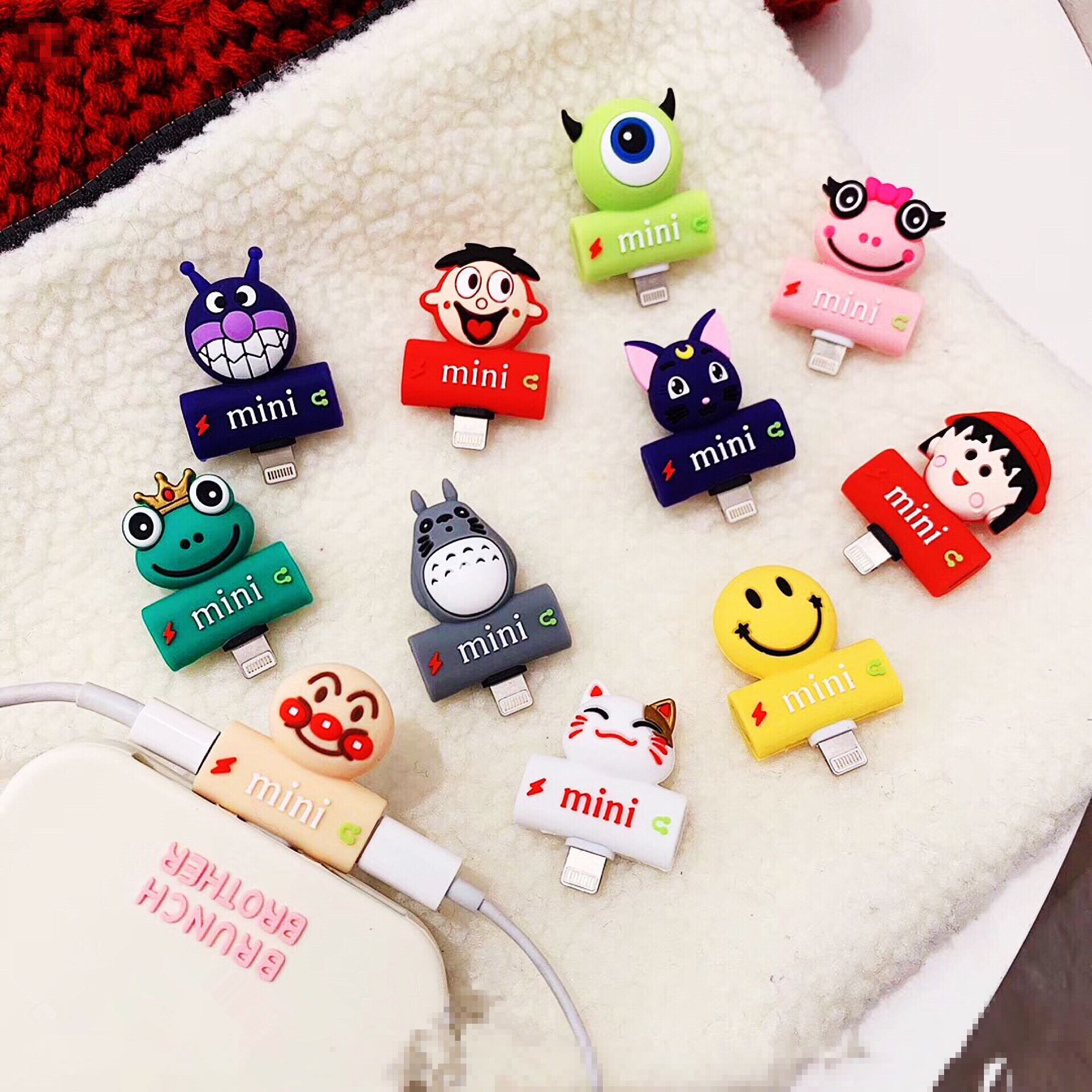Cartoon and Totoro Earphone Wire Adapter For Iphone   JK1049