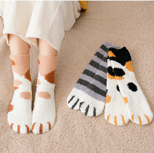 Lovely Cats Paw Socks JK1872