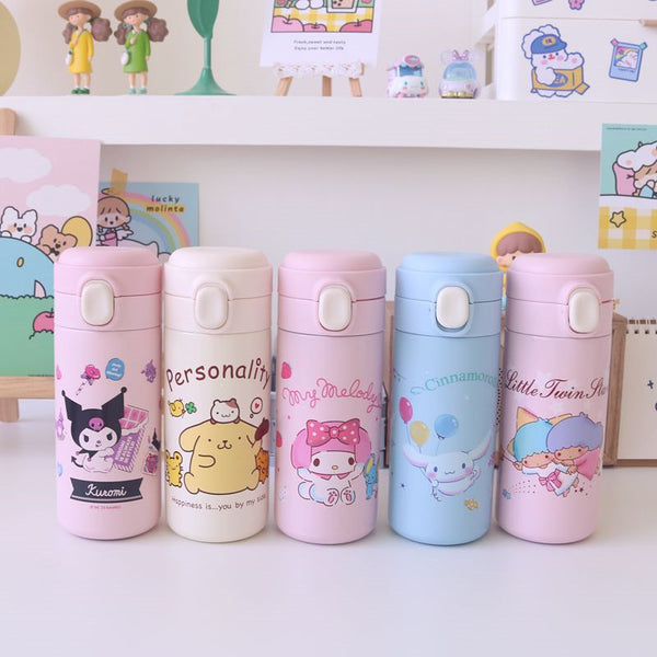 Cartoon Anime Stainless Steel Vacuum Water Bottle JK2524