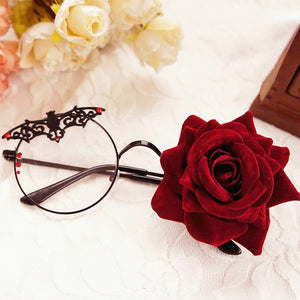 Lolita Bat Rose Glasses JK2492