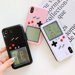 New Style Game Machine Phone Case for iphone 6/6s/6plus/7/7plus/8/8P/X/XS/XR/XS Max JK1703