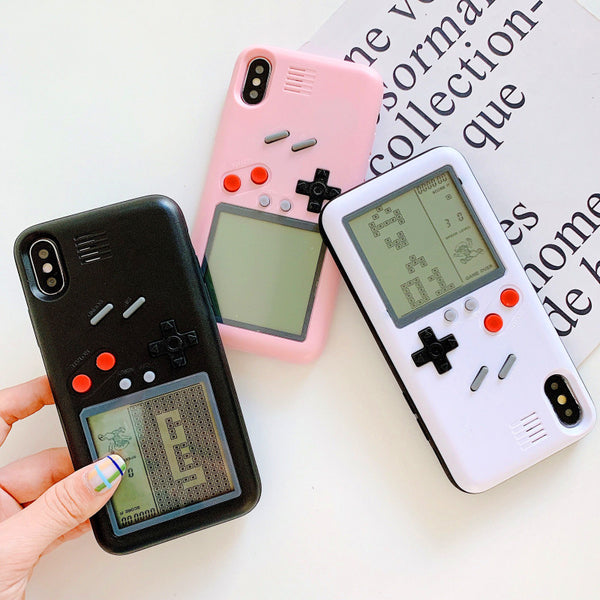 New Style Game Machine Phone Case for iphone 6/6s/6plus/7/7plus/8/8P/X/XS/XR/XS Max/11/11pro/11pro max JK1703