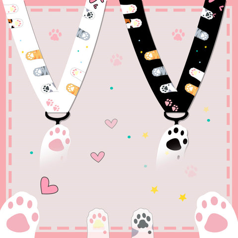 Kawaii Cat Paws Phone Lanyard JK1710