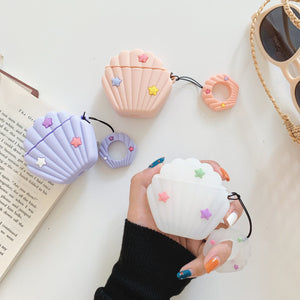 Colorful Shells Airpods Protector  JK1615