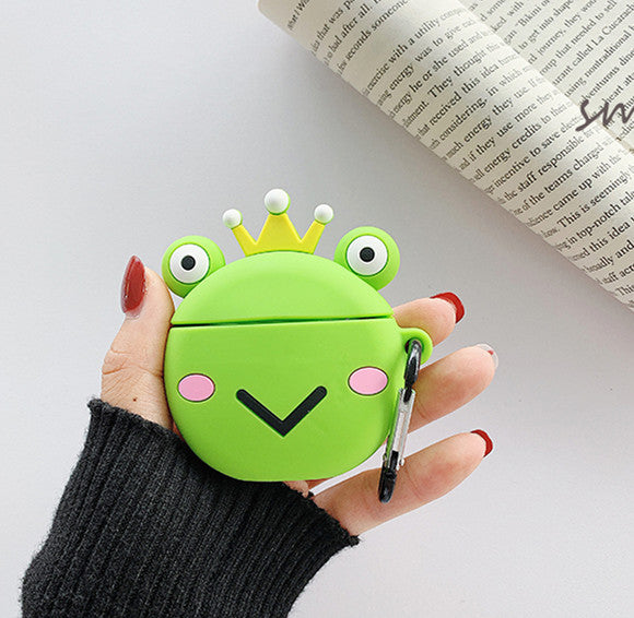 Cute Frog Bottle Airpods Protector  JK1580