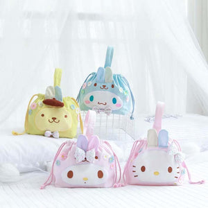 Lovely Cinnamoroll and Melody Makeup Bag JK1293