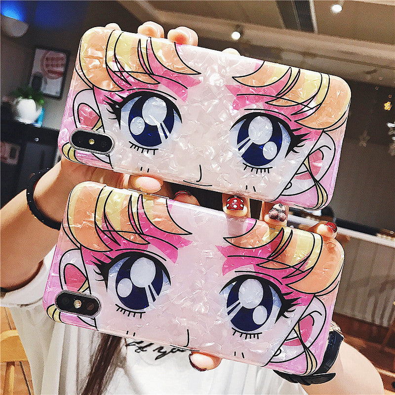 Fashion Usagi Phone Case for iphone 6/6s/6plus/7/7plus/8/8P/X/XS/XR/XS Max JK1695