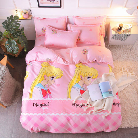 Sailormoon Usagi Four Piece-suit Bedding JK1018