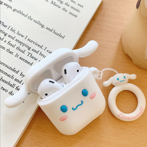 Cinnamoroll and The Pink  Airpods Protector Case JK1519