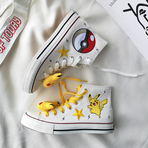 Fashion Pikachu Canvas Shoes  JK2011