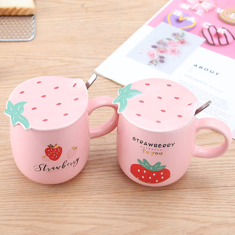 Sweet Strawberry Mug Cup JK2669