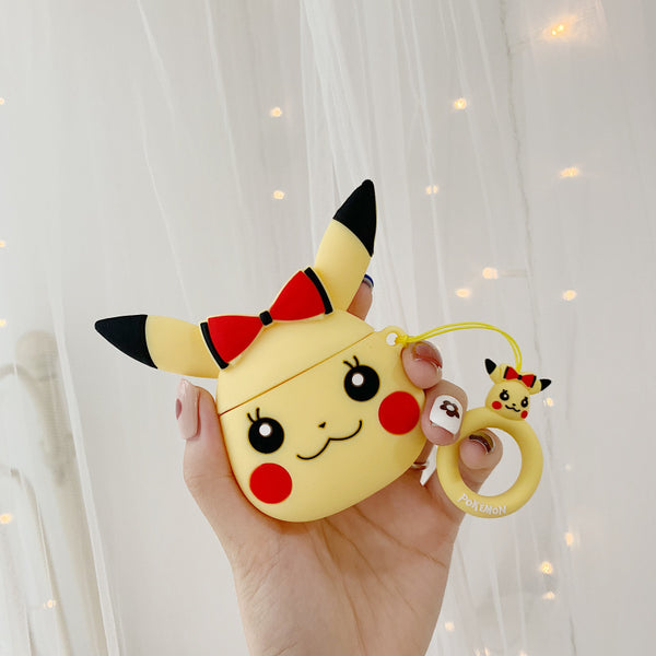 Lovely Pikachu Airpods Protector Case JK1401