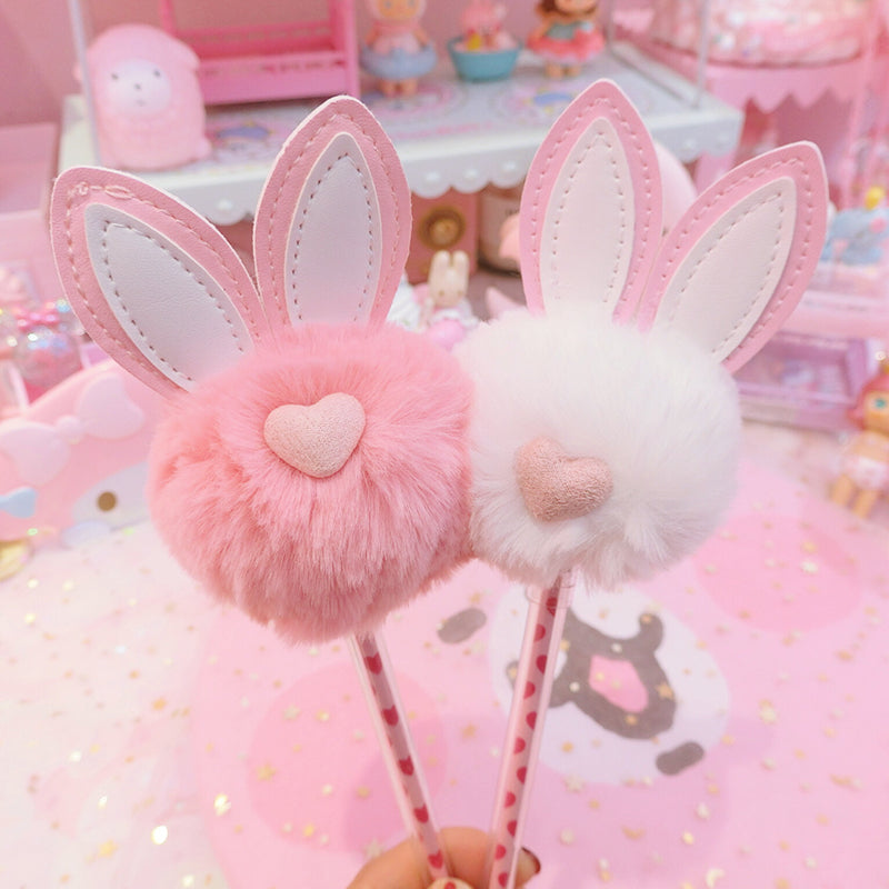 Cute Rabbit Ear Ballpoint Pen JK1324