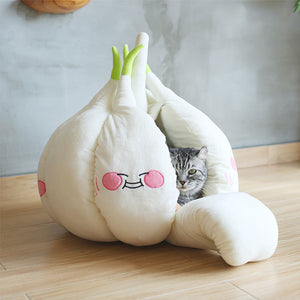 Funny Garlic Cat House JK2341