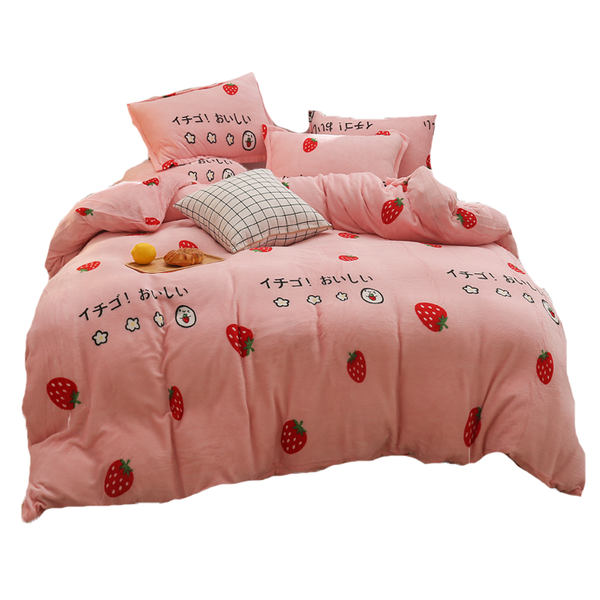 Fashion Strawberry Bedding Set JK2640