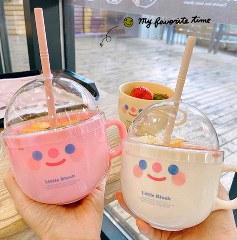 Smile Face Water Cup JK2161