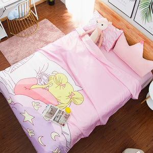 Lovely Usagi Four Piece-suit Bedding JK1555
