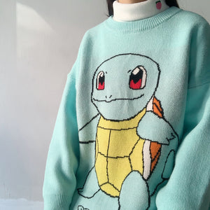 Cute Squirtle Sweater JK1944
