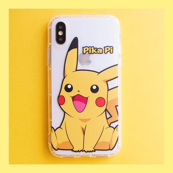 Lovely Pikachu Phone Case for iphone 6/6s/6plus/7/7plus/8/8P/X/XS/XR/XS Max JK1320