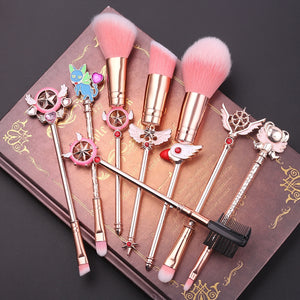 Fashion Sakura Makeup Brush Set  JK1942