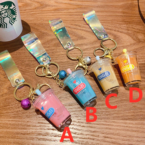 Fashion Bubble Tea Keychain JK2022