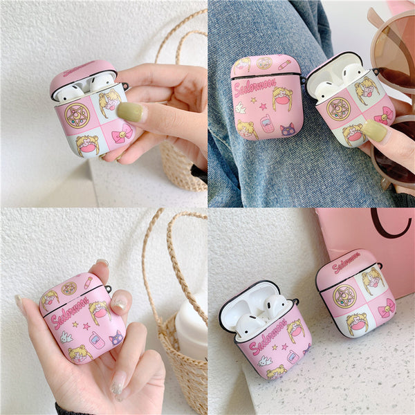 Cute Sailormoon Airpods Protector Case JK1647