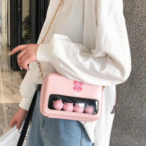 Cute Pigs Shoulder Bag JK1916