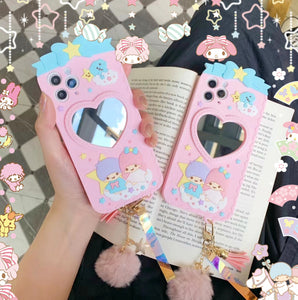 Lovely Anime Phone Case for iphone 6/6s/6plus/7/7plus/8/8P/X/XS/XR/XS Max/11/11pro/11pro max JK2454