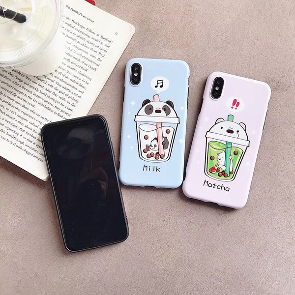 Lovely Bears Phone Case for iphone 6/6s/6plus/7/7plus/8/8P/X/XS/XR/XS Max/11/11pro/11pro max JK1441