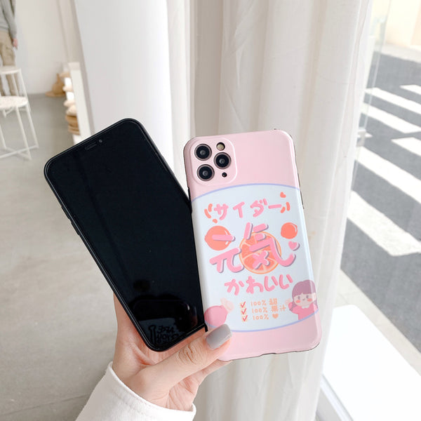 Fashion Girl Phone Case for iphone7/7plus/8/8P/X/XS/XR/XS Max/11/11 pro/11 pro max JK2119