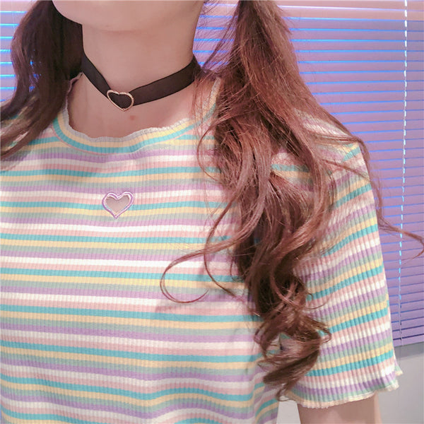 Fashion Rainbow T-shirt JK2125