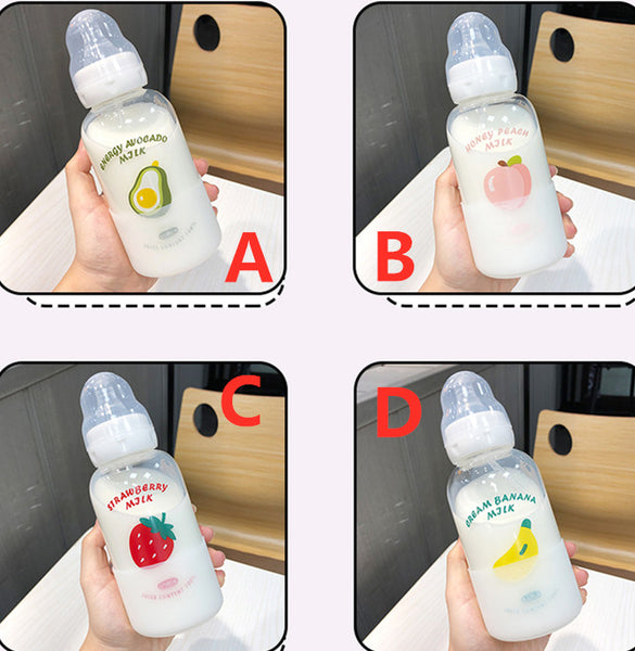 Cute Nipple Strawberry Water Bottle  JK2194