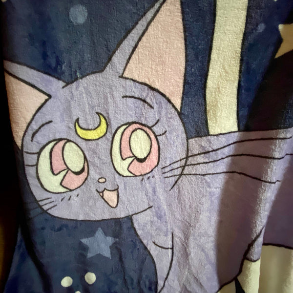 Anime Cat Blanket JK2457