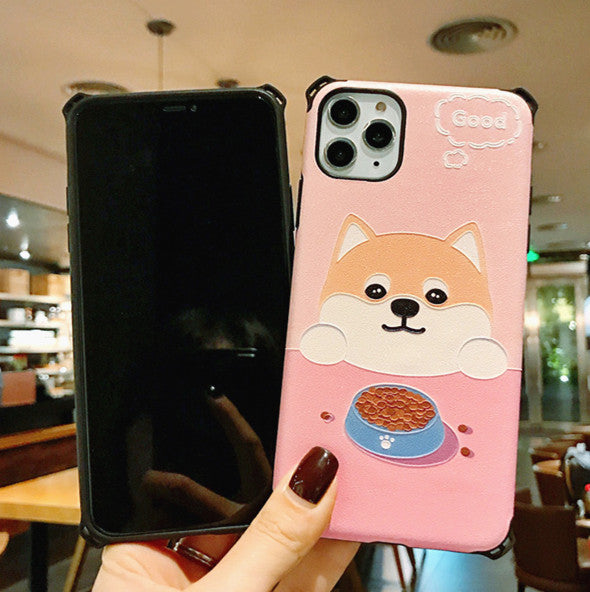 Lovely Dog Phone Case for iphone 6/6s/6plus/7/7plus/8/8P/X/XS/XR/XS Max/11/11 pro/11 pro max JK1906