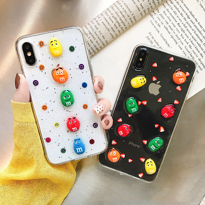Kawaii Foods Phone Case for iphone 6/6s/6plus/7/7plus/8/8P/X/XS/XR/XS Max JK2015
