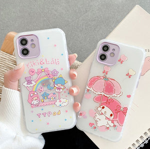 Cartoon Phone Case for iphone7/7plus/8/8P/X/XS/XR/XS Max/11/11 pro/11 pro max/12/12pro/12mini/12pro max JK2664