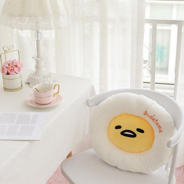 Cartoon Gudetama Seat Cushion JK2112