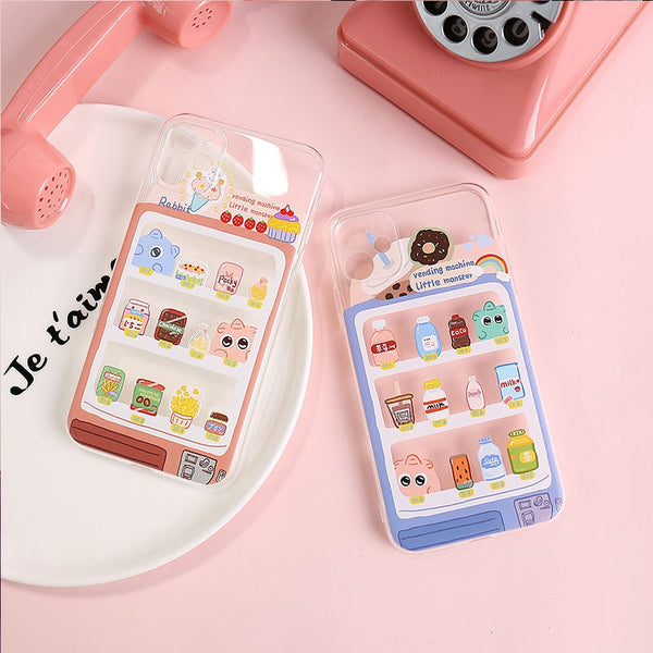 Lovely Bottle Phone Case for iphone 6/6s/6plus/7/7plus/8/8P/X/XS/XR/XS Max/11/11 pro/11 pro max JK2201