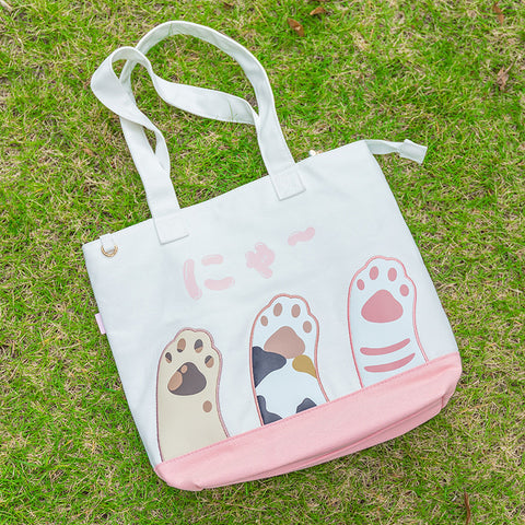 Lovely Cats Paw Hand Bag JK1354