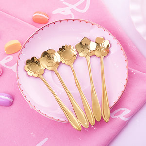 Cute Flowers Spoon JK1263
