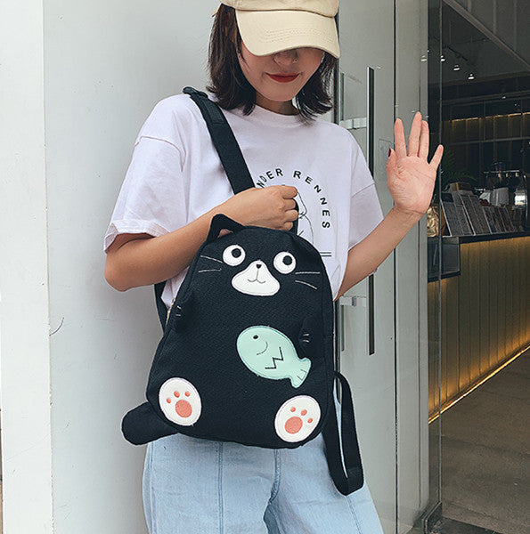 Lovely Cats Backpack JK2287