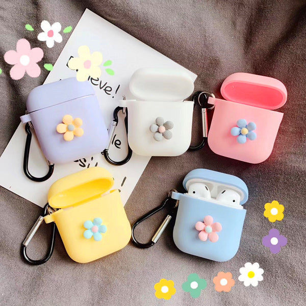 Flowers Airpods Protector  JK1313