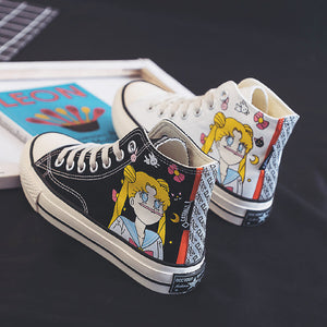 Fashion Sailormoon Canvas Shoes  JK1752