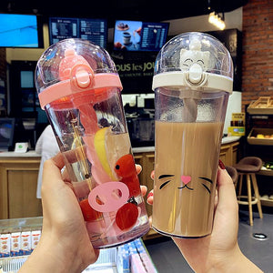 Kawaii Bear Water Bottle JK2121